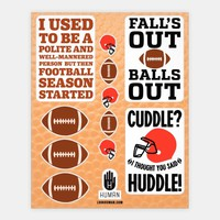 Football Season Stickers