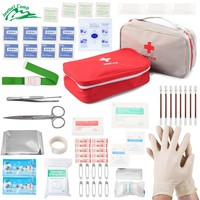 60pcs First Aid Kit Portable Medical Emergency Kit Bag for Camping Car Home Survival Office Travel Tourniquet JBC-M001