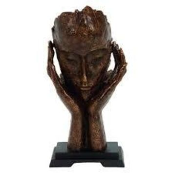 Handcrafted Silent Men Statues Resin Abstract Sculpture Home Decor Figurine
