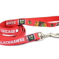 Chicago Blackhawks Premium Dog Leash
