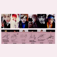 NCT Dream Autographed Photo Card