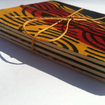 African Print Coasters - Set of 4