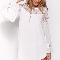 August Lace Tunic