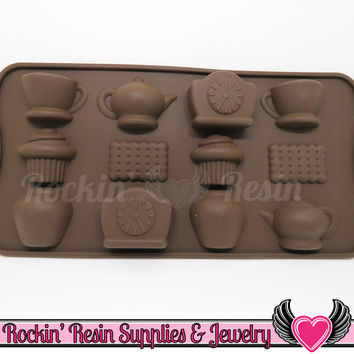 Tea / Cupcake SILICONE MOLD, Food Grade