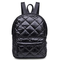 Quilted Mini Backpack - Well Done Goods, by Cyberoptix