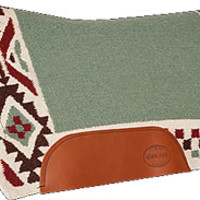 Saddles Tack Horse Supplies - ChickSaddlery.com Mustang Freedom Design Wool Saddle Pad
