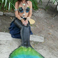 Emily Angelfish Life Like Latex Mermaid TAIL in Any Color You Choose VERY REALISTIC