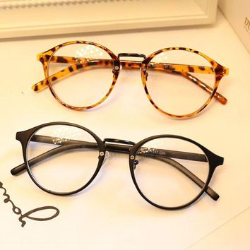 Cute Style Vintage Glasses Women Glasses Frame Round Eyeglasses Frame Optical Frame Glasses