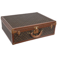 Vintage Louis Vuitton Hard Case Luggage