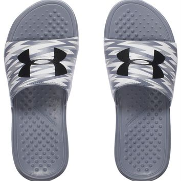 Under Armour Sandals Boys' UA Strike Flash Slides