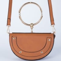 Half Moon Crossbody Clutch