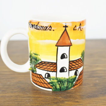 Vintage Novelty Coffee Mug Cockroach Coffee Cup Honduras Souvenir