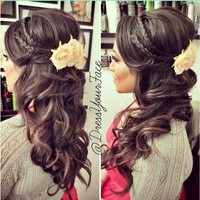 Amazing hairstyle for Prom! ❤