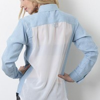 Sweet Essence Denim Top