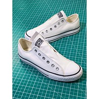 Converse All Star Slip ¢£ Ox White Sneakers - Sale