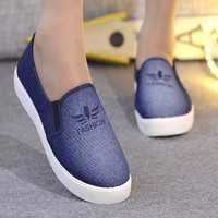 2017 New Autumn Unisex Women Casual Shoes High Quanlity Canvas Shoes Fashion Brands Breathable Shoes Lovers Flats