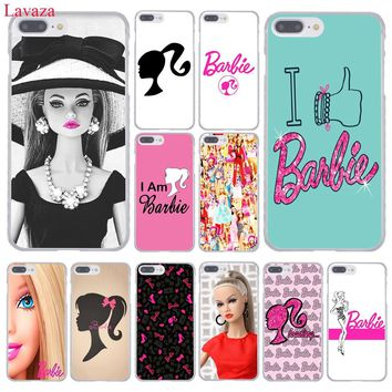 Lavaza for barbie Bitch doll face 1959 Hard Coque Shell Phone Case for Apple iPhone 8 7 6 6S Plus X 10 5 5S SE 5C 4 4S Cover