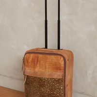 Orinico Trolley Suitcase by Caterina Lucchi Bronze One Size Jewelry