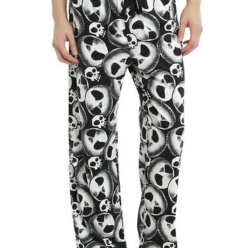 The Nightmare Before Christmas Jack Head Guys Pajama Pants