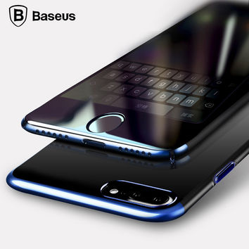 BASEUS Phone Case For Apple iPhone 7 / 7 Plus Luxury Plating Frame + Hard PC Cover Coque For iPhone 7 Case Capinha