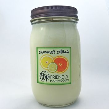 Summer Citrus 14 oz Candle