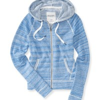 Aeropostale  Womens French Terry Full-Zip Hoodie