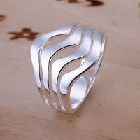 925 STERLING SILVER RING FOR MEN FOR ENGAGEMENT AND WEDDING AND DAILY WEAR