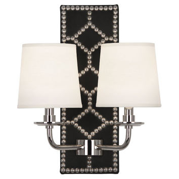 Williamsburg Lightfoot Wall Sconce | Black