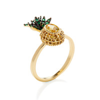 Pia Pequeno Pineapple Ring