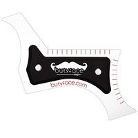 Butyface Beard Styling tool & Shaping Template for using beard timmer to design beard & Mustache/Cheek/Neck/Jaw line