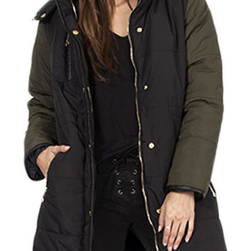 The Inferno Jacket in Black
