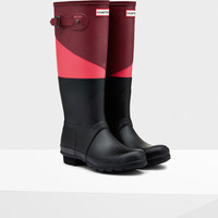 Women's Asymmetric Color Block Rain Boots | Official Hunter Boots Site