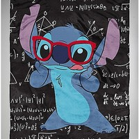 Math Stitch Disney Fleece Blanket - Spencer's