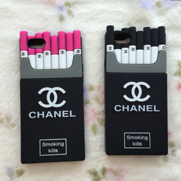 """Chanel""fashion hot sale iPhone  cases Tempered film  red black"