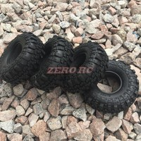 "4Pcs 1.9"" Supper Swamper Rock Tyre 110mm Tires For RC 1/10 Crawler RC4WD Axial SCX10 D90 TF2"