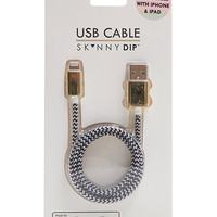 Black/White iPhone Cable
