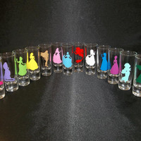 Disney Princess Personal Double Shot Glasses