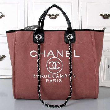 Perfect CHANEL Women Shopping Bag Leather Handbag Satchel Shoulder Bag Crossbody