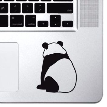 "Panda Bear Macbook Decal Sticker Keyboard Keypad Macbook Pro Air 13"" 15"" 17"""