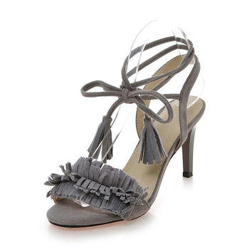 Tassels Ring Accessories Shoes Belt Sandals = 5825140865