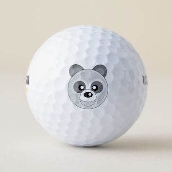 Animal Face Golf Balls