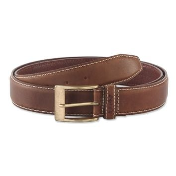 391902 Leather Belt in Brown Color | Style n Craft