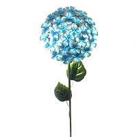 Home & Garden BLUE HYDRANGEA STAKE Metal Flower Garden Accent 11226
