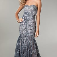 Strapless Mermaid Gown by Jump