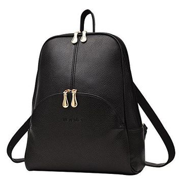 Nevenka Brand Women Bags Backpack Purse PU Leather Zipper Bags Casual Backpacks Shoulder Bags