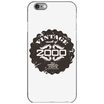 vintage made of 2000 all original parts iPhone 6/6s Case