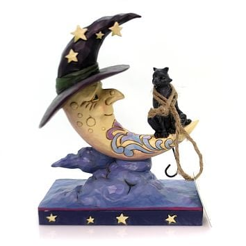 Jim Shore Moonlight Mischief Halloween Figurine