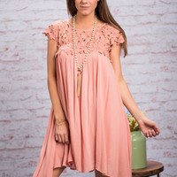 The Bright Side Dress, Blush