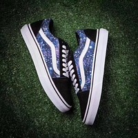 Vans Classics Old Skool Black Galaxy Sneaker