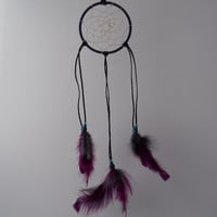 Dream Catcher Native American Inspired Hand Made Leather Wound